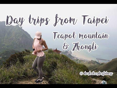 Day Trips From Taipei | Teapot Mountain & Zhongli | Spring Break 2018