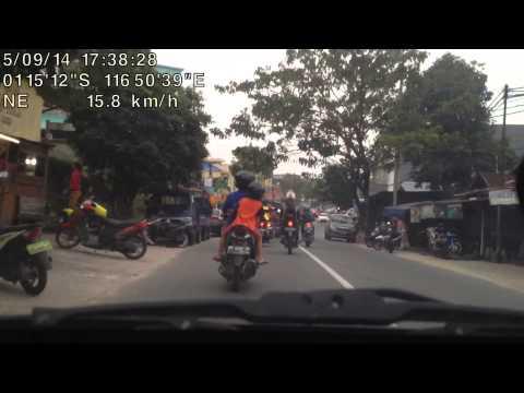Balikpapan Driving BP Gunung Malang to Kilo 0,7