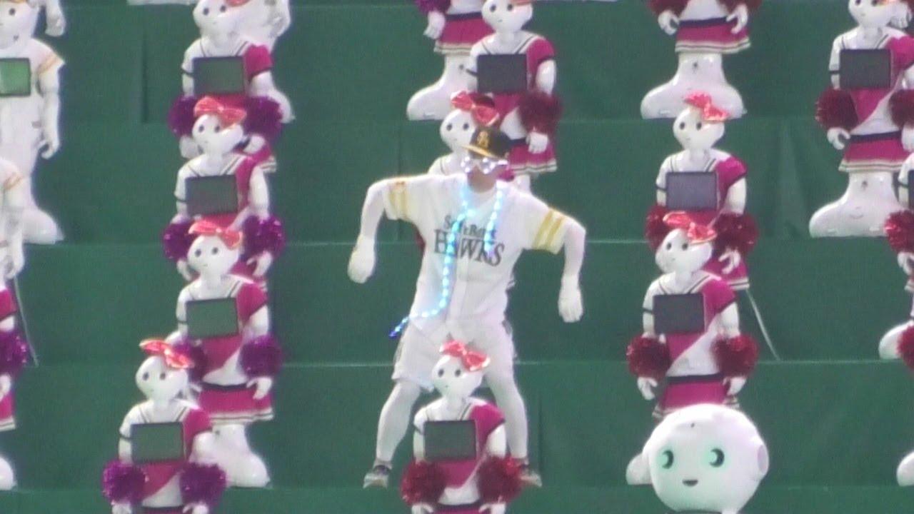 雨に濡れたペッパーくん100体はお休み のダンス/江南スタイル~2021.5.11
