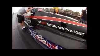 DON GARLITS 7.25@184mph SR-37 electric dragster