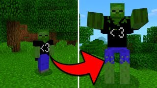 New AA12 Zombie Mob in Minecraft Pocket Edition (Mutant AA12 Addon)