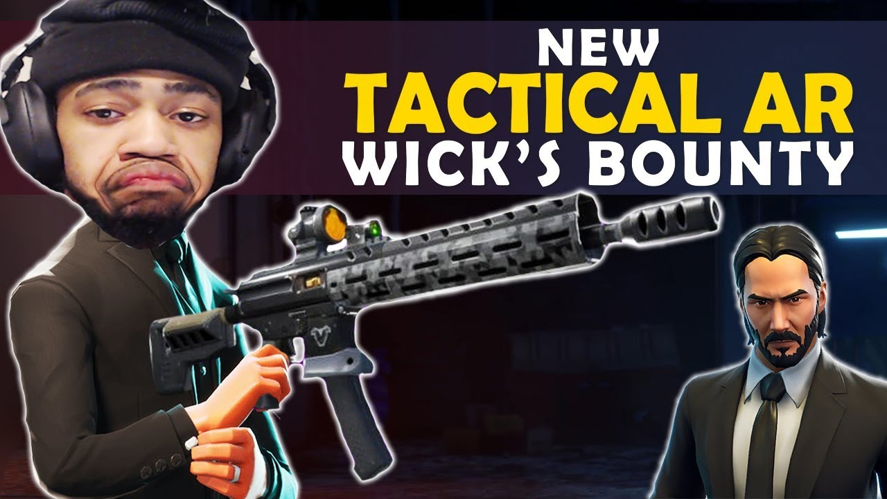 NEUE TAKTISCHE AR - JOHN WICK LTM | NO MATS CLUTCHES - (Fortnite Battle Royale) + video