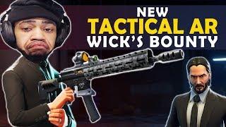 NEW TACTICAL AR - JOHN WICK LTM | NO MATS CLUTCHES - (Fortnite Battle Royale)