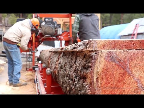 He Milled His First Log - IT'S NOT WHAT HE THOUGHT!