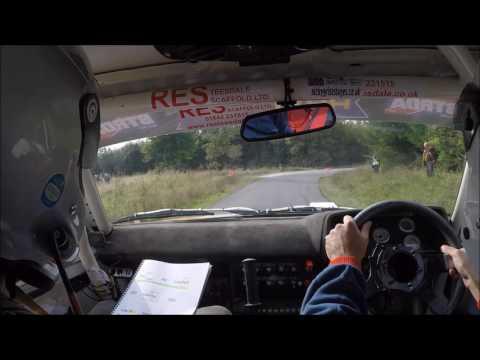 Trackrod Rally Yorkshire - SS4 Dalby Andrew Davison/Tom Murphy