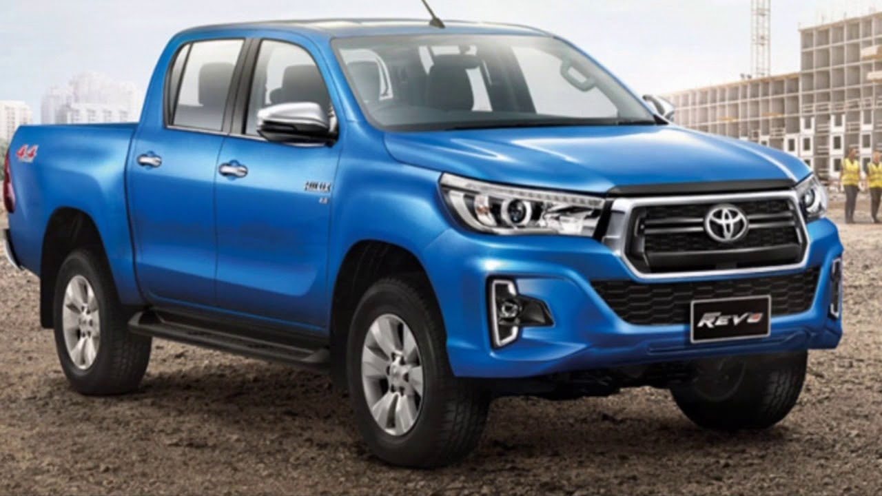 The New 2019 Toyota Hilux refreshed new look ☆ Revo & Rocco variant - YouTube