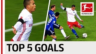 Bobby Wood - Top 5 Goals - Updated thumbnail