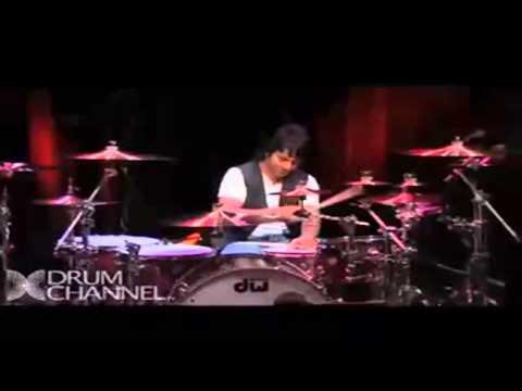 Grandes bateristas Alex Gonzales vs Marco minnemann