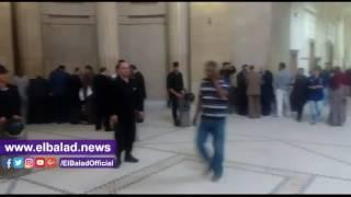 توافد قضاة النقض لدار القضاء العالي وسط تعزيزات أمنية لحضور الجمعية العمومية.. فيديو