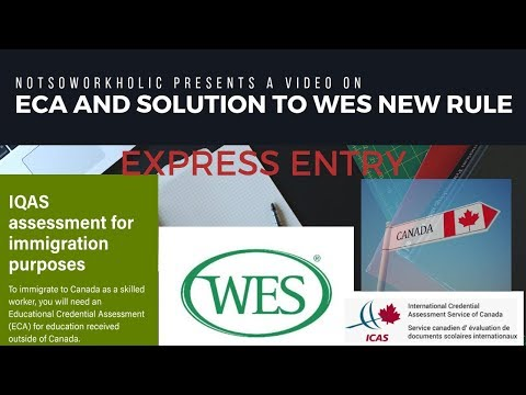 Educational Credential Assessment  Tanscripts   Solution To WES New Rule