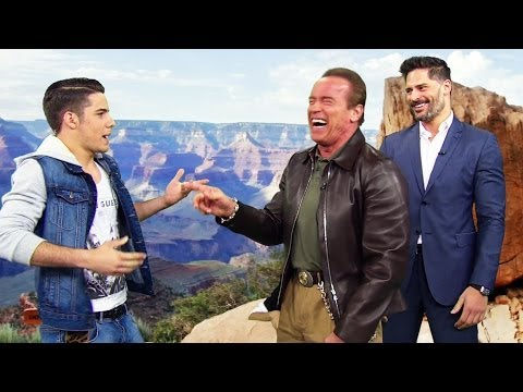 ¿Que hizo Arnold Schwarzenegger en Despierta América?