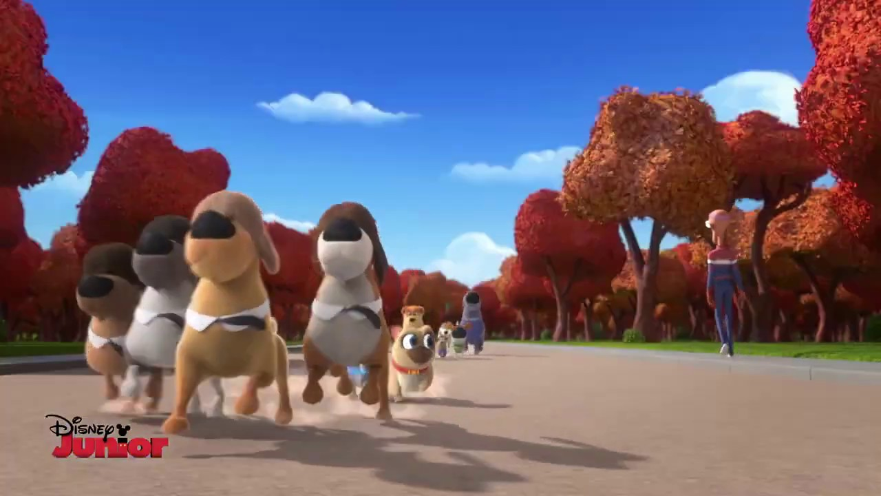 Puppy Dog Pals - The Lab Four EXCLUSIVE CLIP
