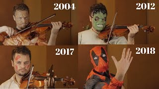 Evolution Of Marvel Music | 2002-2018 (Stan Lee Tribute)