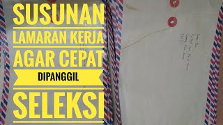 Susunan Lamaran Tes Kerja di BKK/LPK Mitra Industri MM2100