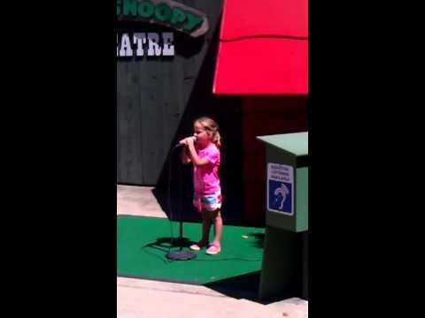 Karaoke at cedar point
