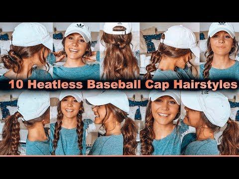 10 HEATLESS BASEBALL CAP HAIRSTYLES