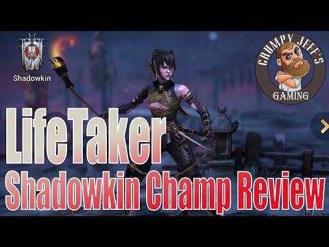 Raid Shadow Legends Lifetaker a Quick Look 🧔👎👍