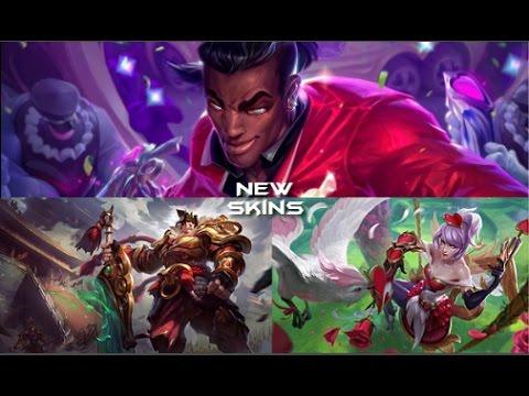 NEW splash arts: Warring Kingdoms Garen,Heartseeker Lucian, Heartseeker Quinn. Info #1