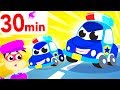 The Car Patrol, Police Car Song, ?? Car Chase, Racing ???  Compilation by Little Angel