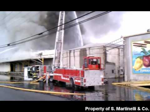 The Apple Growers Ice & Cold Storage Facility Fire