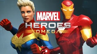 Marvel Heroes Omega Gameplay - IRON MAN PLAYTHROUGH (no commentary)