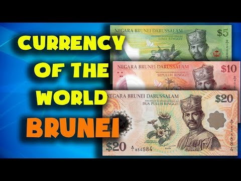 Currency Of The World - Brunei. Brunei Ringgit. Exchange Rates Brunei. Brunei Banknotes,Brunei Coins