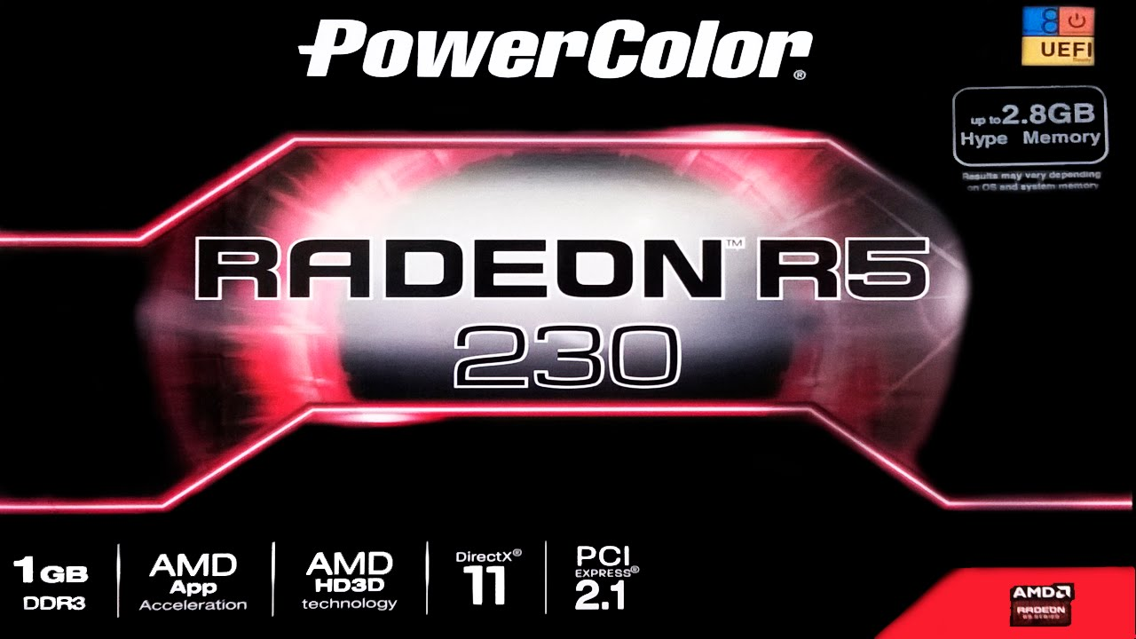 Unboxing Power Color AMD Radeon R5 230 + Pequena Análise