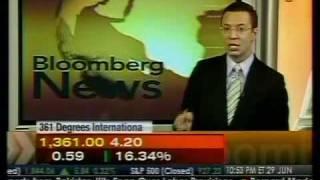 361 Degrees Gain In Hong Kong - Bloomberg