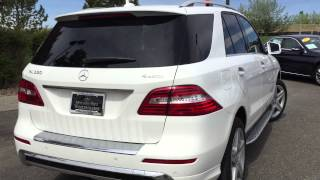 2015 Mercedes ML350 Video Tour