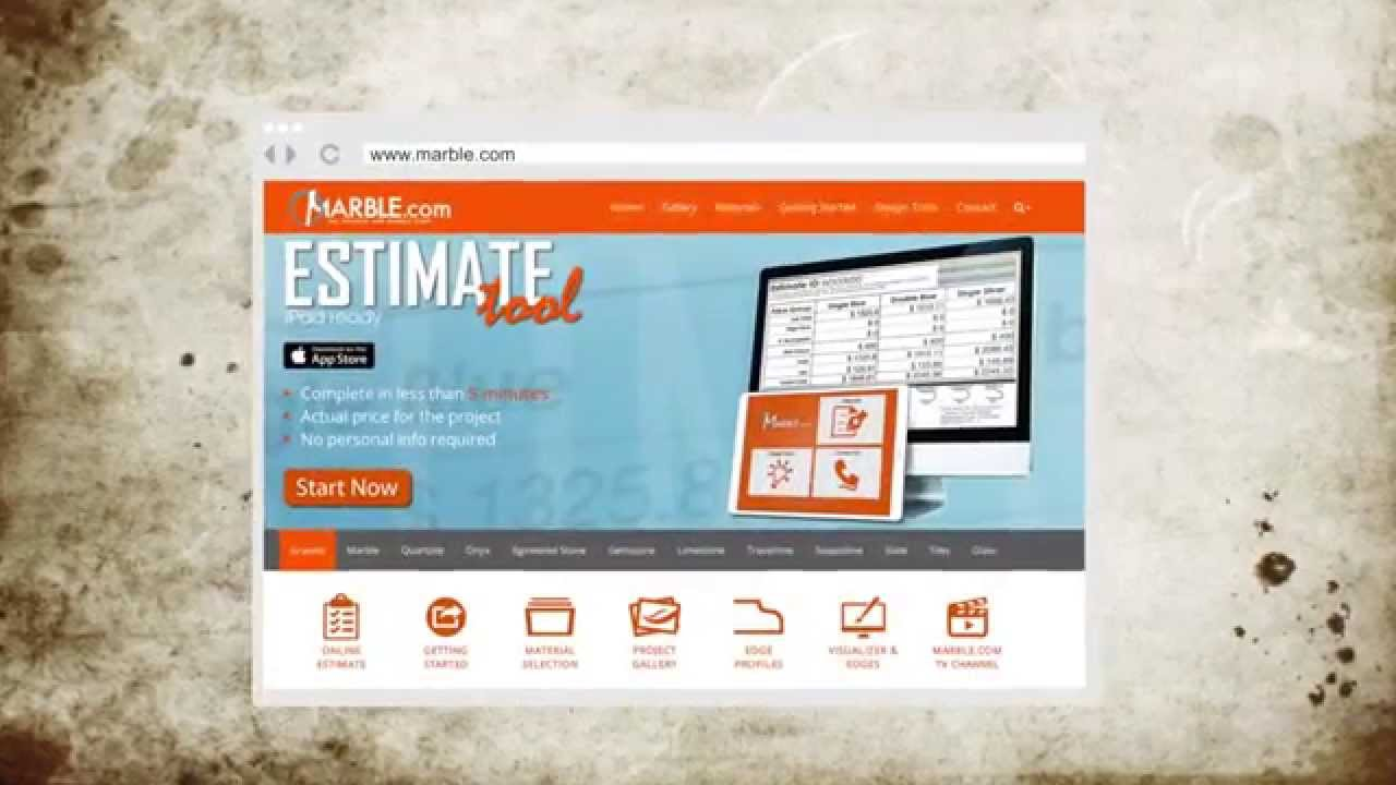 The Marble.com Free Online Estimate Tool Tutorial For Countertops ...