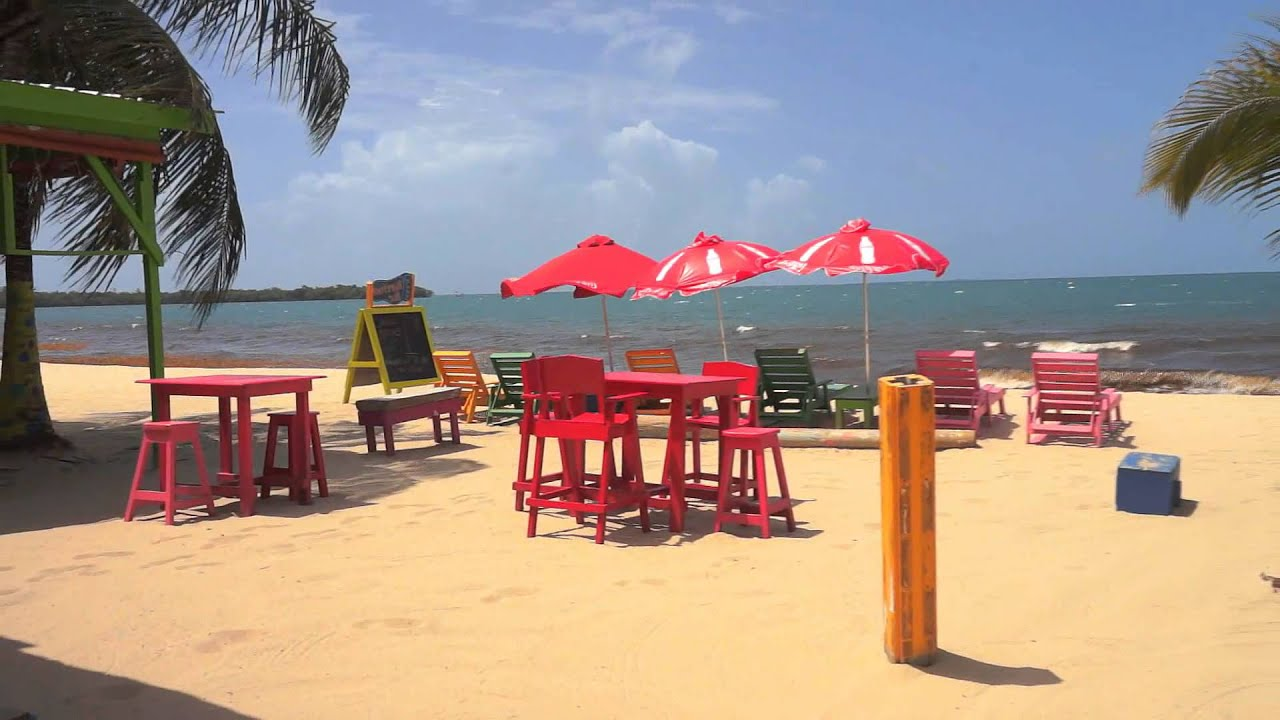 Barefoot Beach Bar, Placencia Belize - YouTube