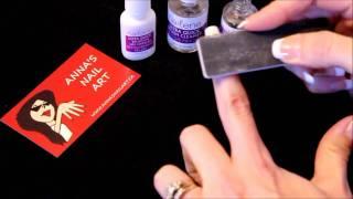 Anna's Nail Art - Gel Nail Tip Preparation