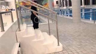 Liukumäen allasportaat
