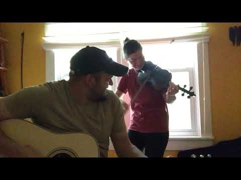 Toss the feathers - Old Irish song - Violin & Guitar