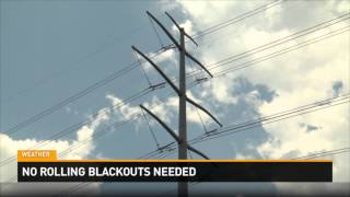 No Rolling Blackouts Were Needed Thursday