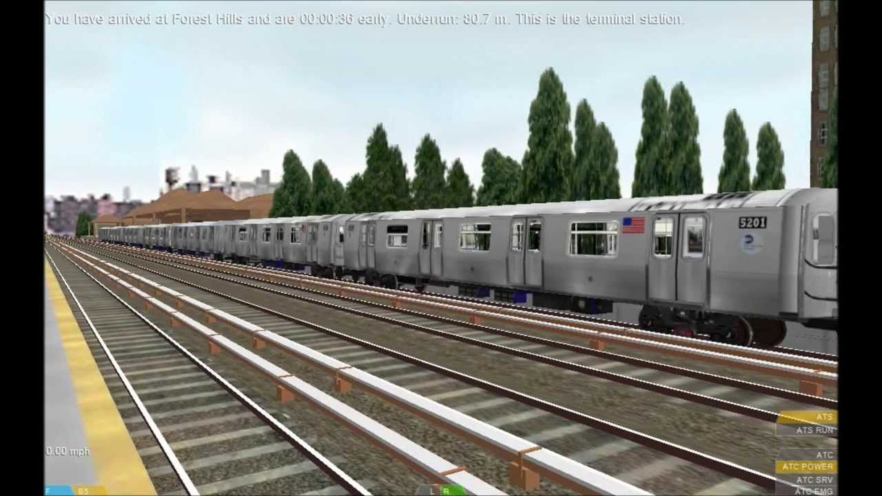 OpenBVE HD EXCLUSIVE: Bombardier LIRR and MNRR M7 EMU Propulsion Preview