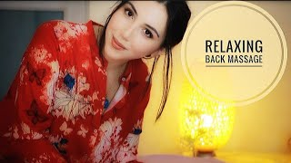 ASMR Massage. Relaxation. Sleep - Crinkles/ Personal Attention