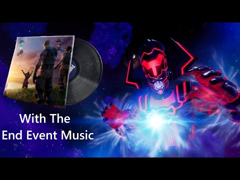 GALACTUS event with THE END event MUSIC