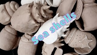 How to make a clay sea shell sculpture