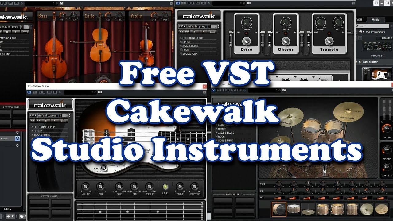 free vst cakewalk studio instruments 2019 youtube. Black Bedroom Furniture Sets. Home Design Ideas