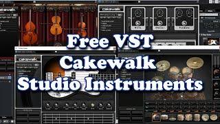 Free VST Cakewalk Studio Instruments 2019