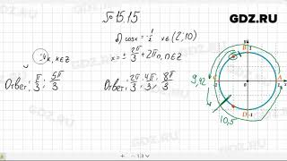 № 15.15- Алгебра 10-11 класс Мордкович