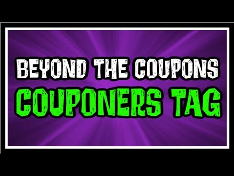 Beyond The Coupons Couponers Tag 2020
