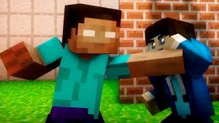 Herobrine vs Hacker! Best Minecraft Animations (Top Minecraft Songs)