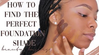 YOUR FOUNDATION DOESN'T MATCH, SIS. HERE'S HOW YOU FIX IT! | 5 TIPS TO FIND YOUR FOUNDATION SHADE