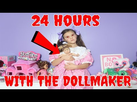 24 Hours With The Doll Maker! Escaping The Doll Maker! Come Play With Us! Episode 2 Whats Wrong