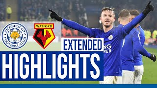Leicester City 2 Watford 0 | Extended Highlights | 2019/20