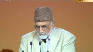 Persian Nazm with Urdu translation at Jalsa Salana UK 2011 Opening session