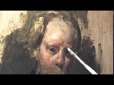 PAINTING THE SELF-PORTRAIT - DVD TEASER Michael Siegel - HIGHLIGHTS and COLOR IDEAS
