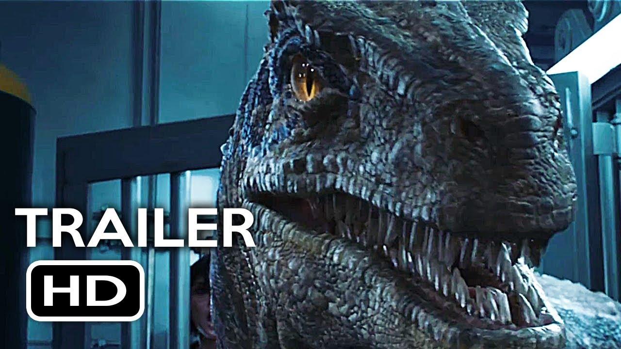 Jurassic World 2 Fallen Kingdom Official Trailer 3 2018 -2082